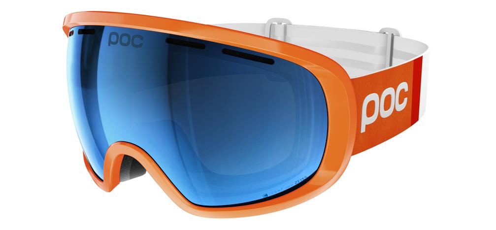 POC Fovea Clarity Comp Zink Orange Spektris Blue
