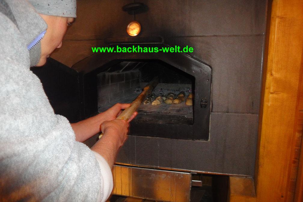 Seelenschiesser für Holzbackofen, Pizzaofen, Backhaus, Steinbackofen