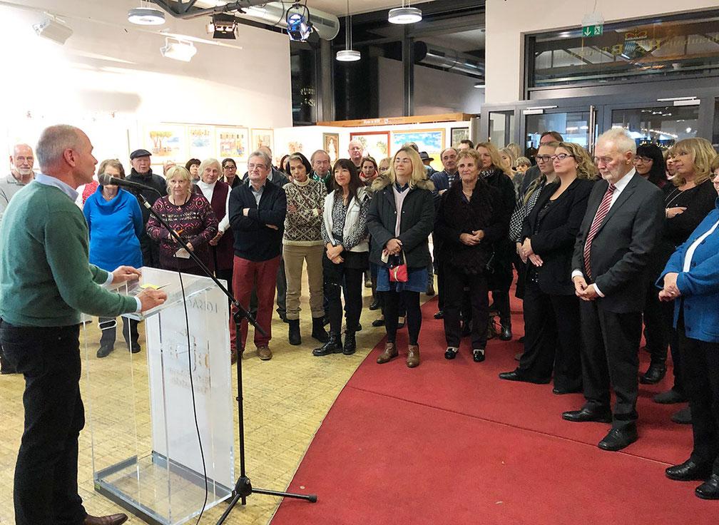 Christina Etschel - Gemälde - Vernissage - Kunstausstellung heimischer Künstler in Wolfratshausen, Loisachhalle