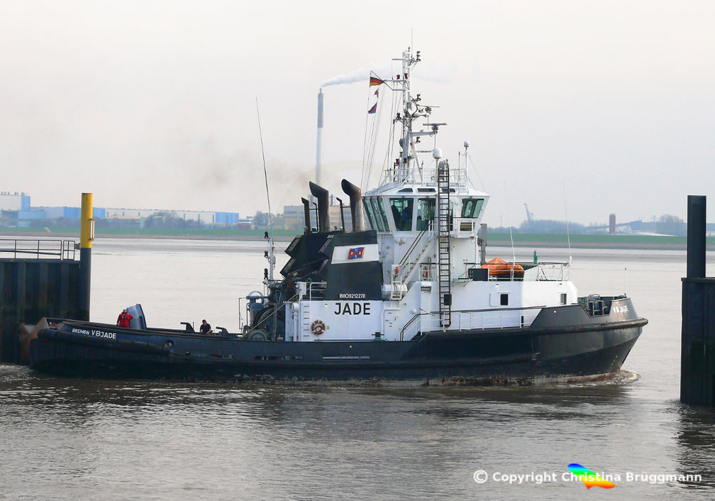 Schlepper Jade in Bremerhaven
