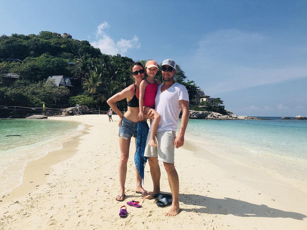 Familie leavingcomfortzone auf Weltreise in Thailand.
