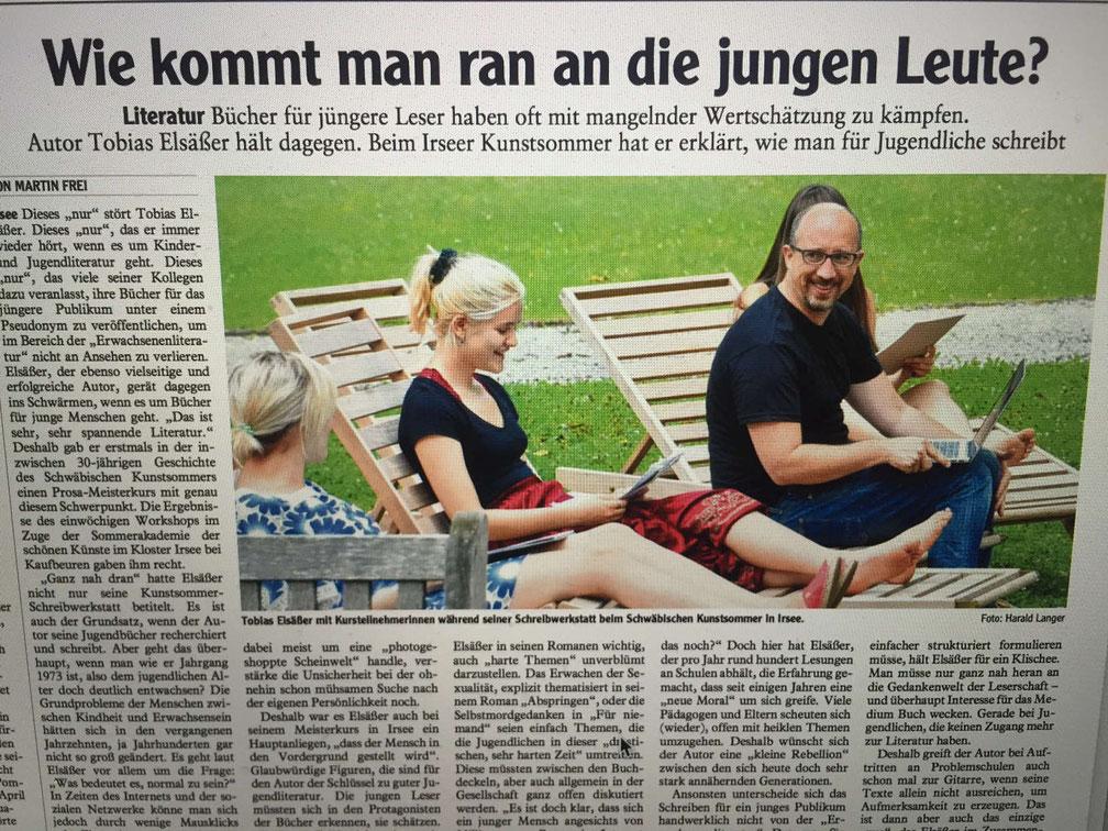 Augsburger Allgemeine vom August 2017