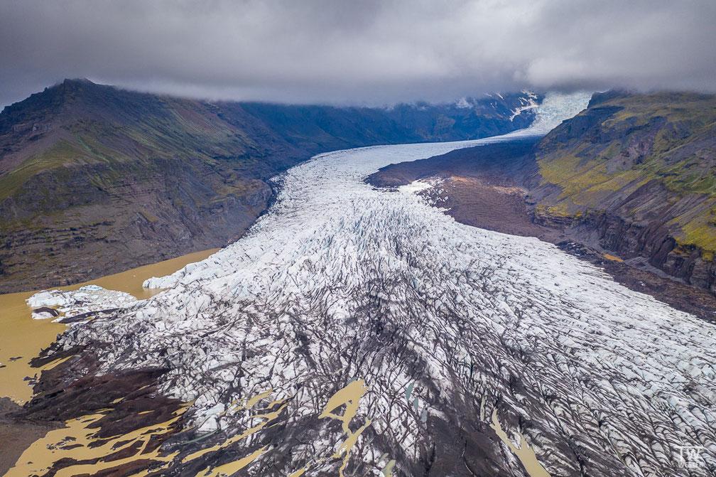 An diesem Gletscher sind wir nur vorbei gefahren oder besser gesagt geflogen (B1741)
