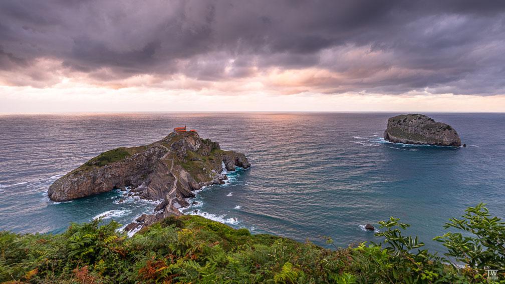 """Am Abend zuvor hatten wir schon die Gelegenheit, von """"oben"""" die Insel zu bewundern (B1802)"""