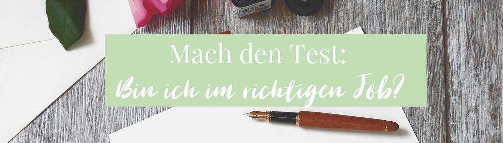 Kristina von Fuchs, Bin ich im richtigen Job?