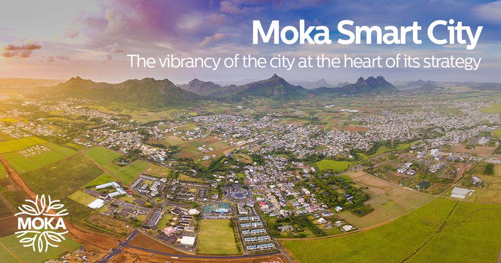 Moka Smart City, la smart City de Moka. Le groupe ENL  a fondé la Smart City de Moka. Immobilier, bureaux, maisons et appartements