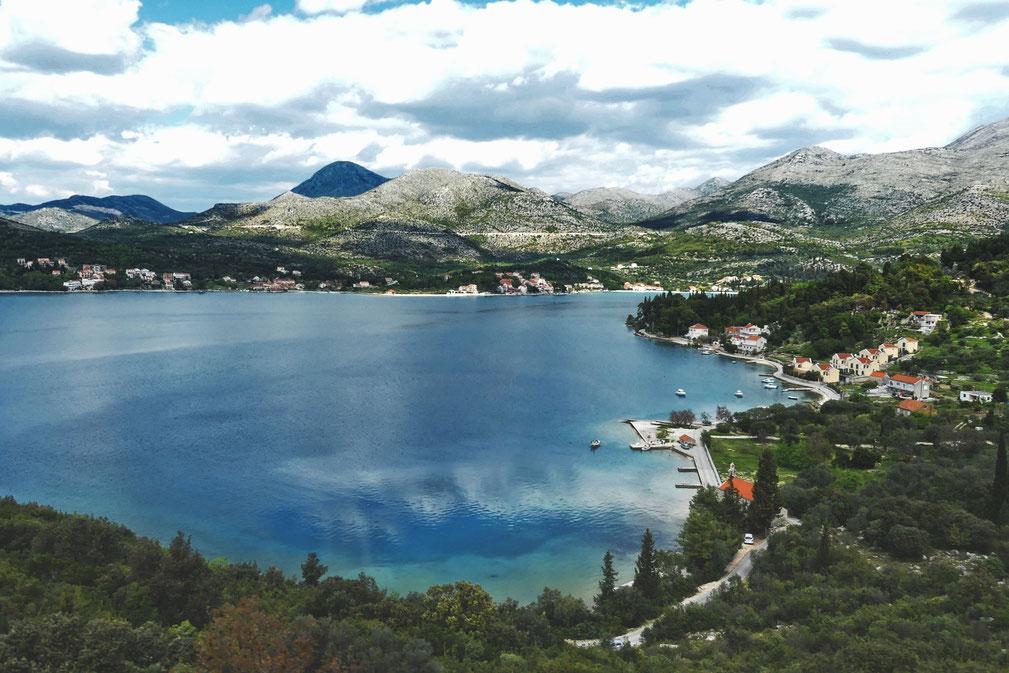 bigousteppes croatie adriatique mer montagne