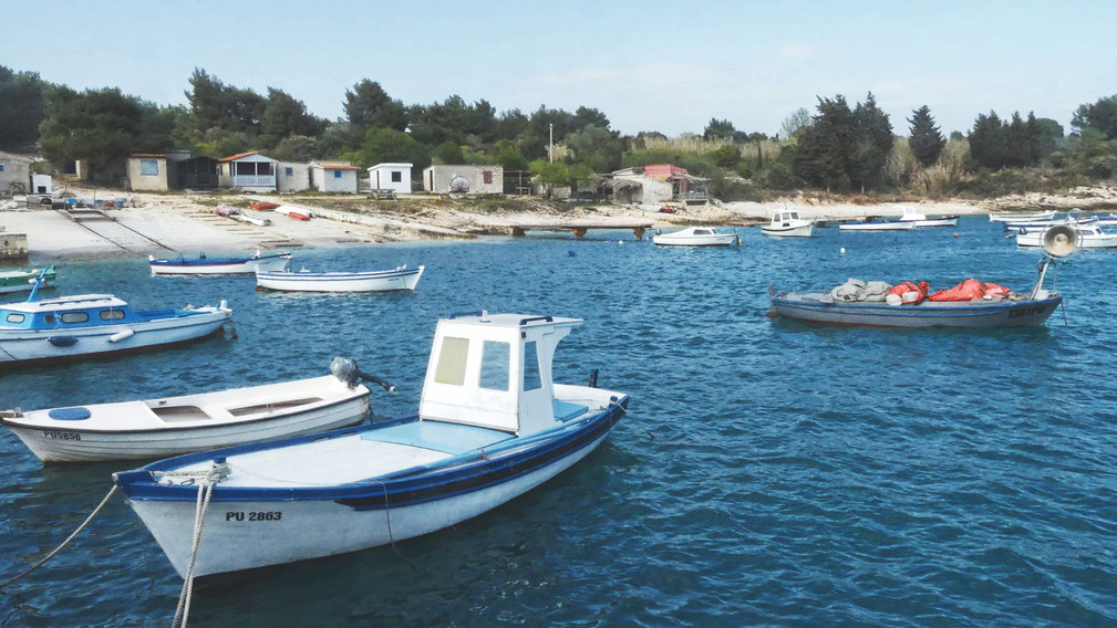 bigousteppes croatie istrie port bateaux