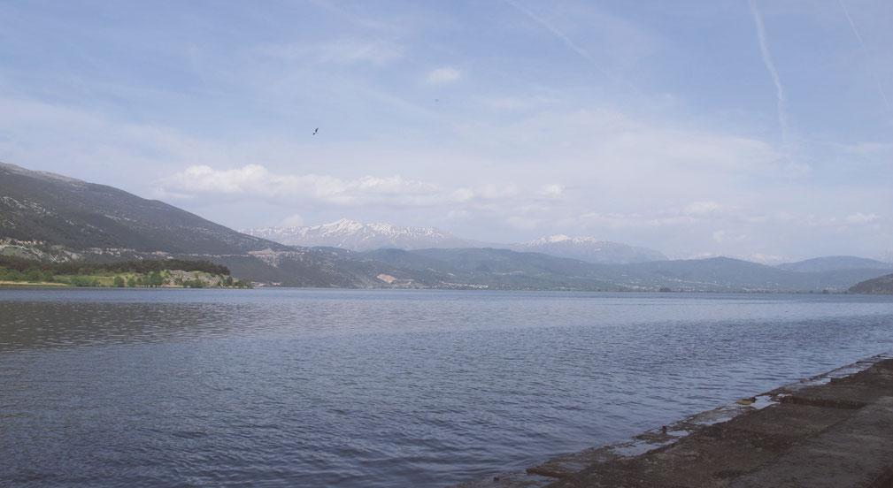 ioannina pavmotis lac bigousteppes montagne balkans