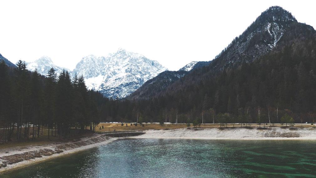 bigousteppes slovenie lac montagne triglav