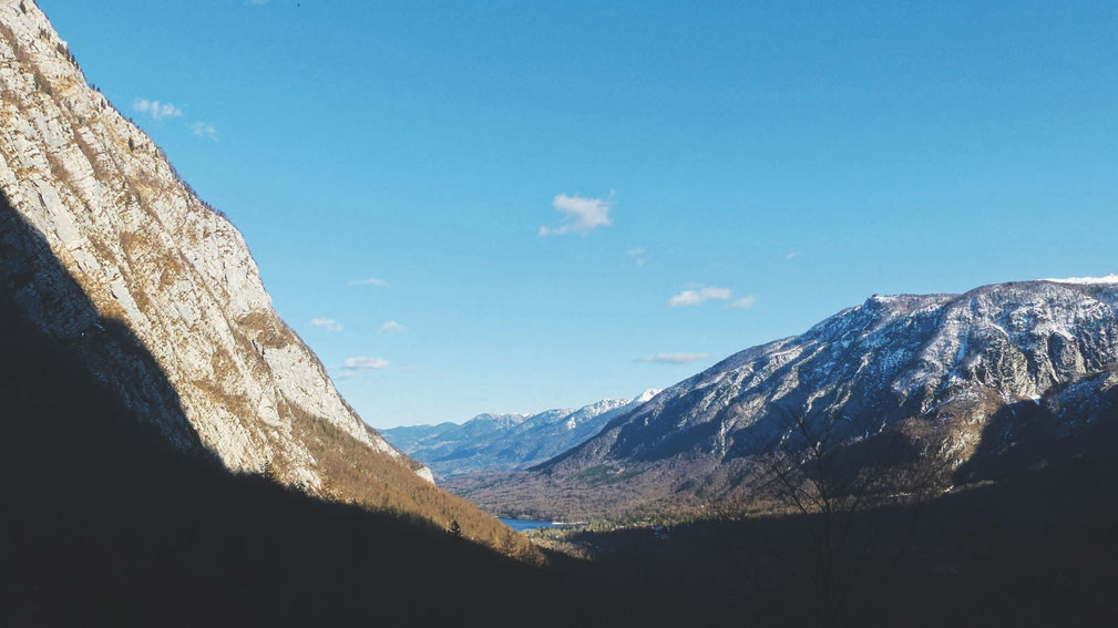bigousteppes bohinj lac montagnes slovénie