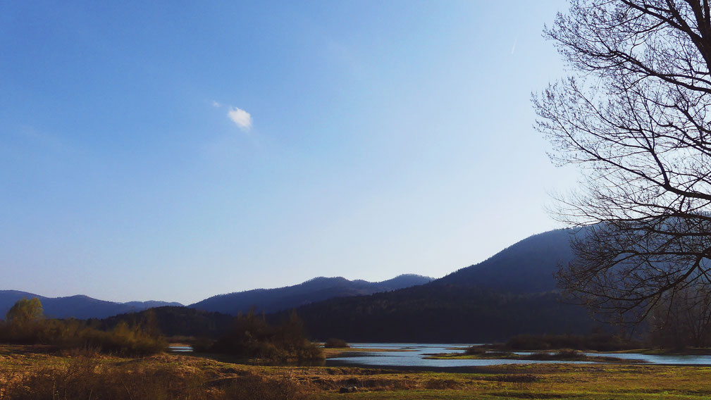 bigousteppes slovénie lac