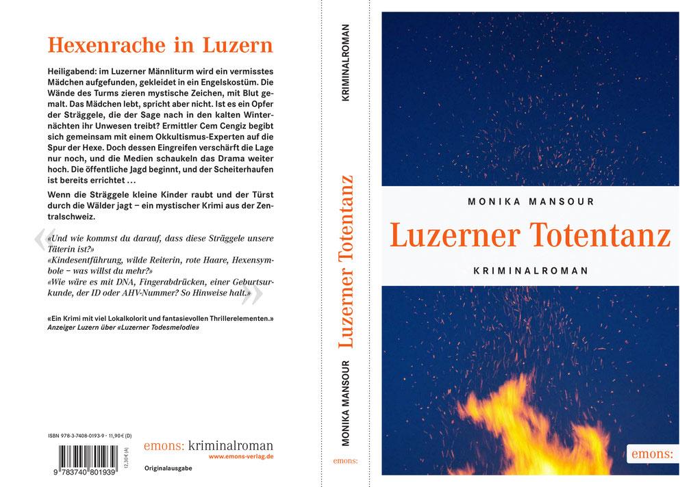 Luzerner Totentanz, Monika Mansour, Krimi