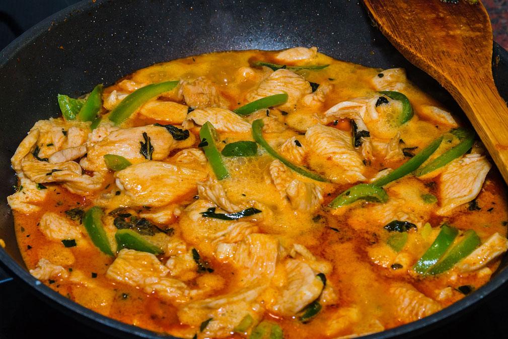 Thailändisches Panäng Curry Rezept