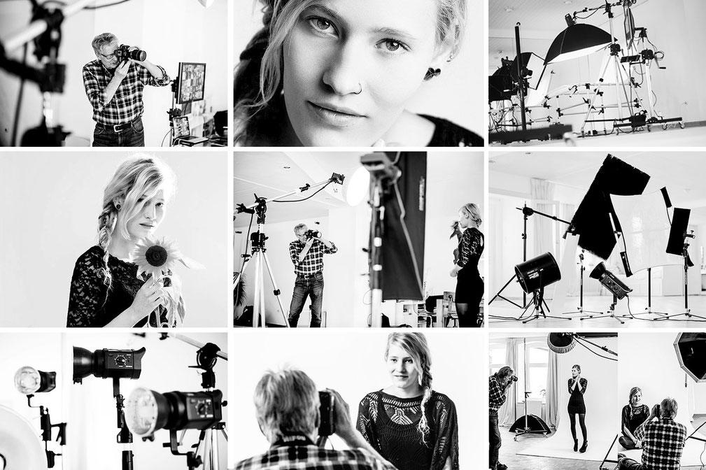 Lerne bei einem individuellen Foto-Coaching oder Workshop mit uns im Mietstudio Osnabrück dein perfektes Fotos zu gestalten
