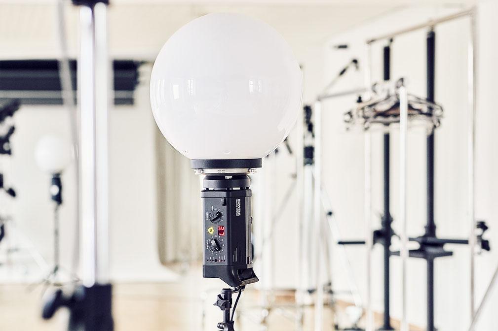 Spezielles Profi-Equipment wie der abgebildete Balloon im Mietstudio Osnabrück