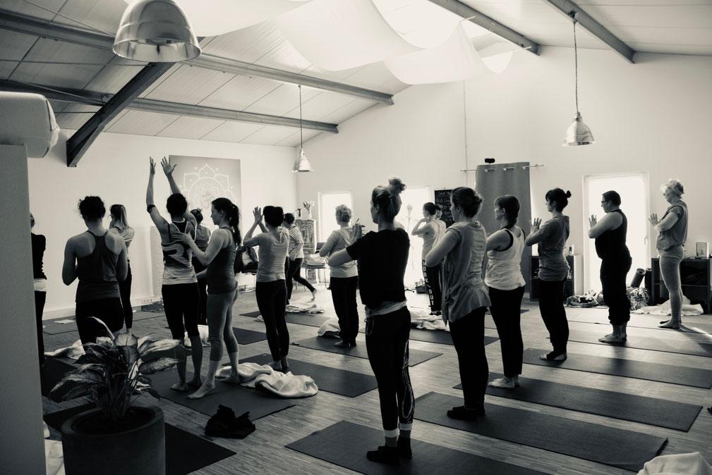 Ashtanga Yoga Lüdinghausen mit Chuck Miller - Ashtanga Yoga Senior Teacher - Honoring the beginning