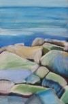 Steine an der Ostsee Passtelkreide