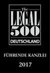 Legal500 Führende Kanzlei im Versicherungsrecht