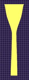 アレキサンダー31 カップ・バックボア形状