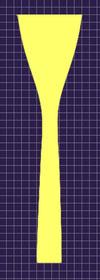 アレキサンダー22 カップ・バックボア形状