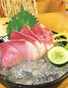 すし舟の寿司盛り合わせ279バーツ