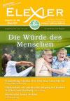 Elexier-Magazin Cover Heft 32: Die Würde des Menschen