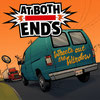 AT BOTH ENDS - Wheel's out the window