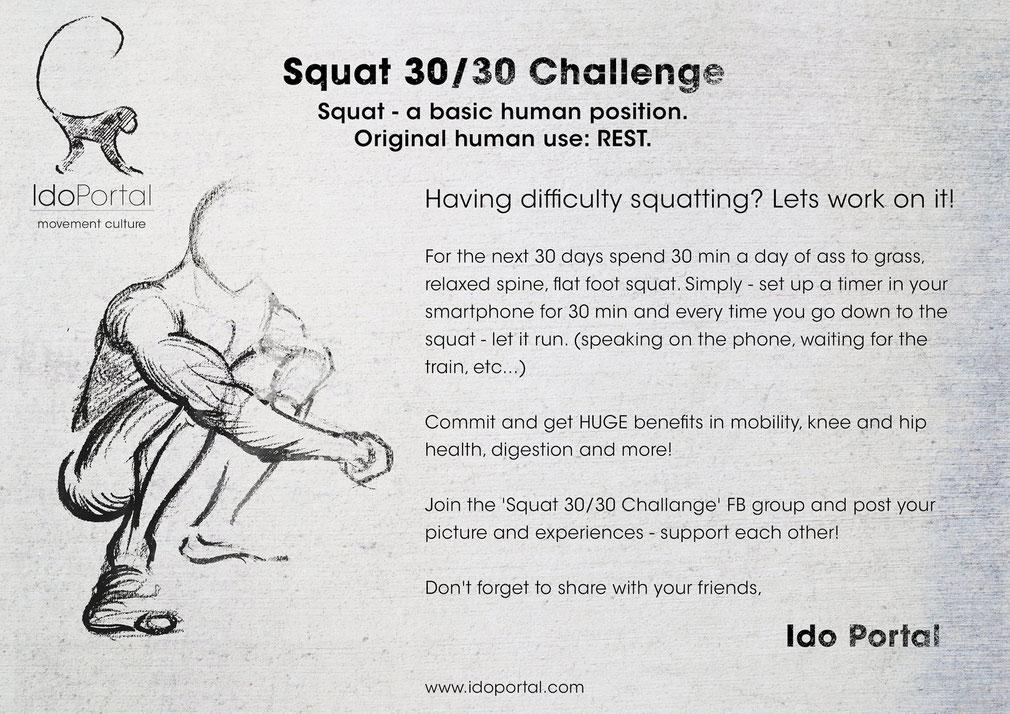 Ido Portal Squat Challange