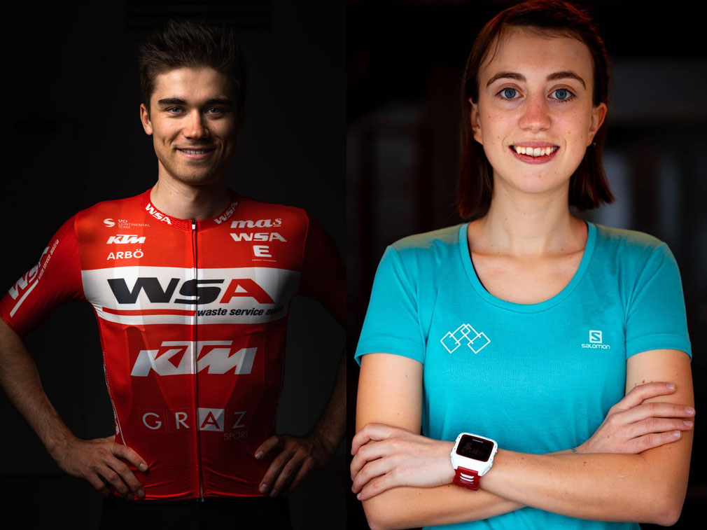 Fotomontage: WSA KTM Graz/Alexander Brus/La Musette Cycling Austria/Paul Jeglic