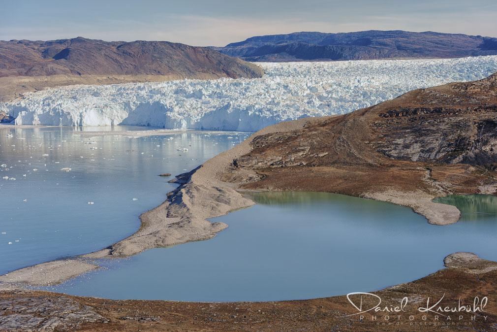 Eqi Gletscher in der Diskobucht in Südwest-Grönland, www.dk-photography.ch, Photographer: Daniel Kneubühl