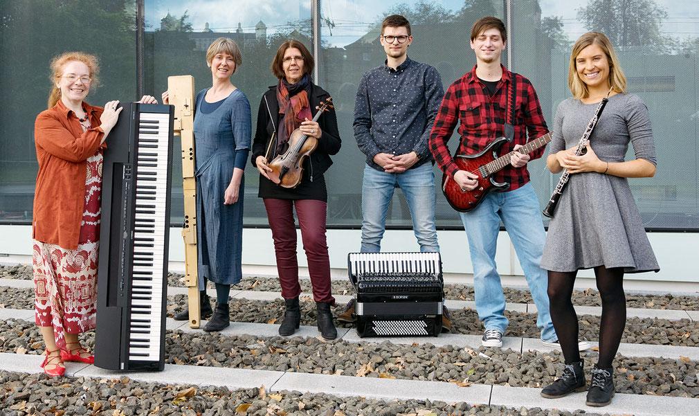 Foto: Alle Dozenten des Musiklehrernetzwerks Würzburg