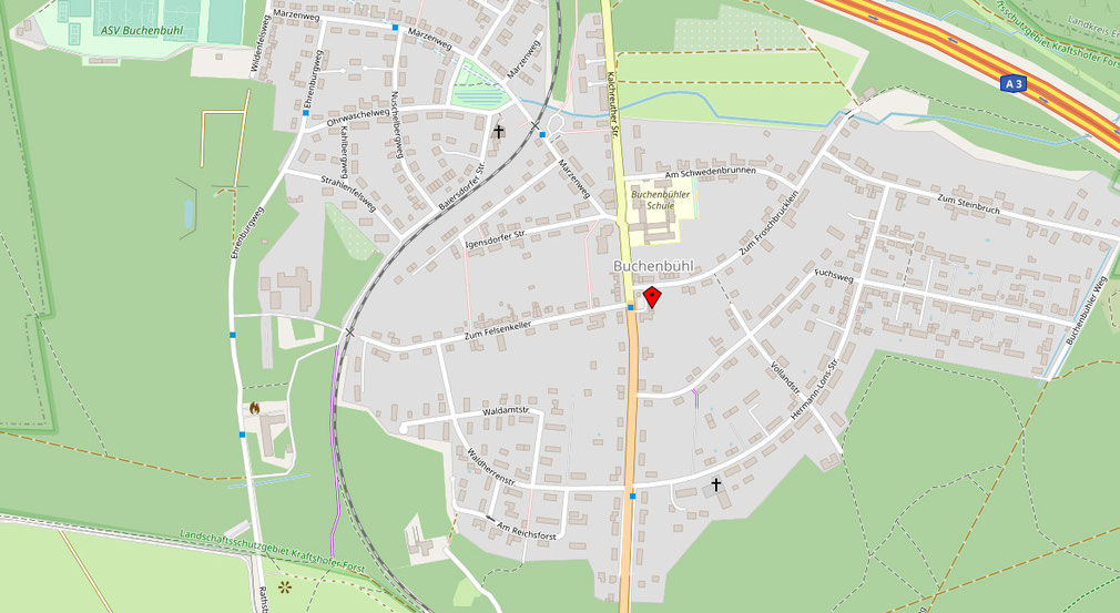 Lageplan meinraum Nürnberg Buchenbühl
