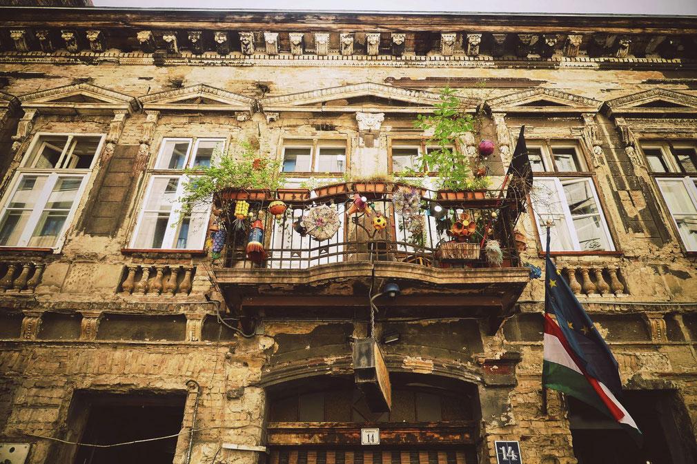 bigousteppes hongrie budapest ruines bar szimpla