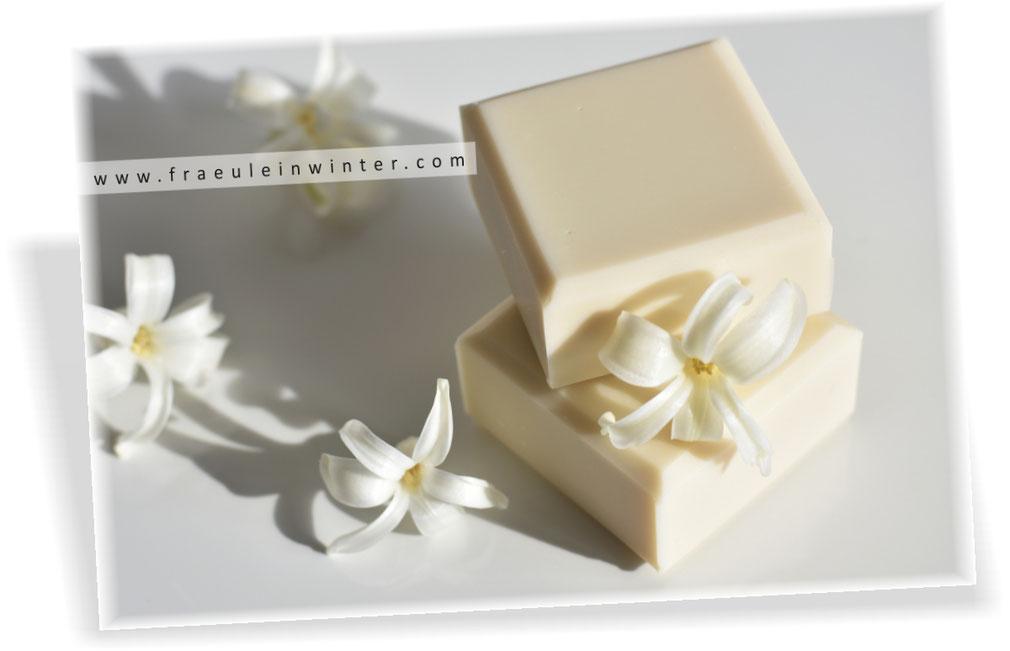 Handgemachte Seife mit sanft-pflegendem Schaum | Fräulein Winter