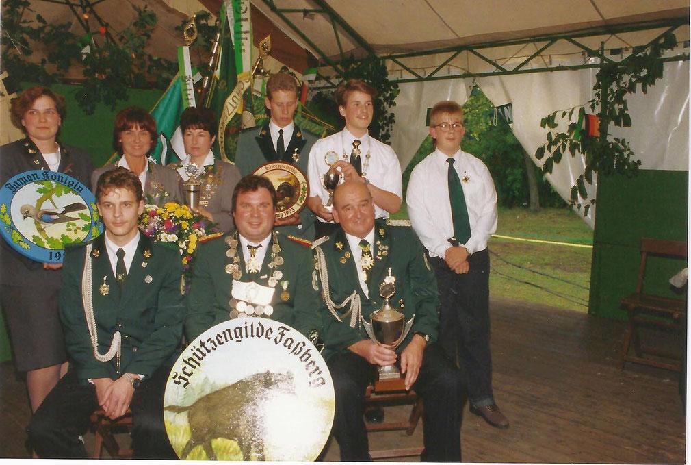 1993 - König // Damenkönigin // Jugendkönig // Adjudanten