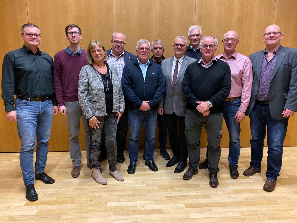 Der neu gewählte Vorstand 2019-2021.