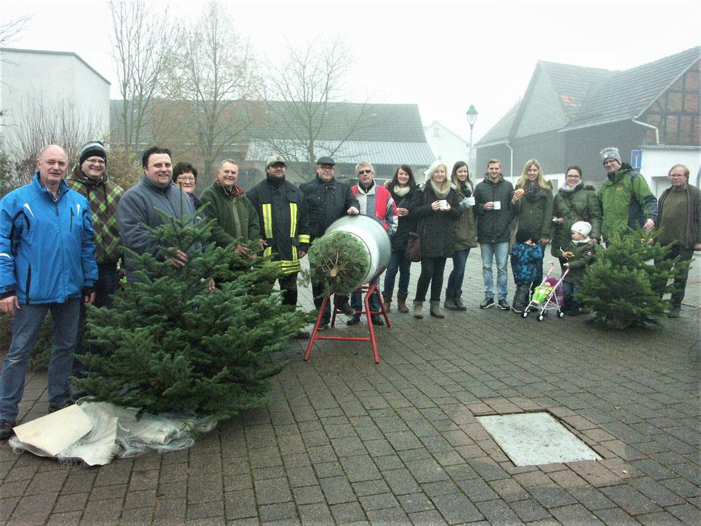 CDU Weihnachtsbaumverkauf zu Gunsten der Lebenshilfe Allendorf