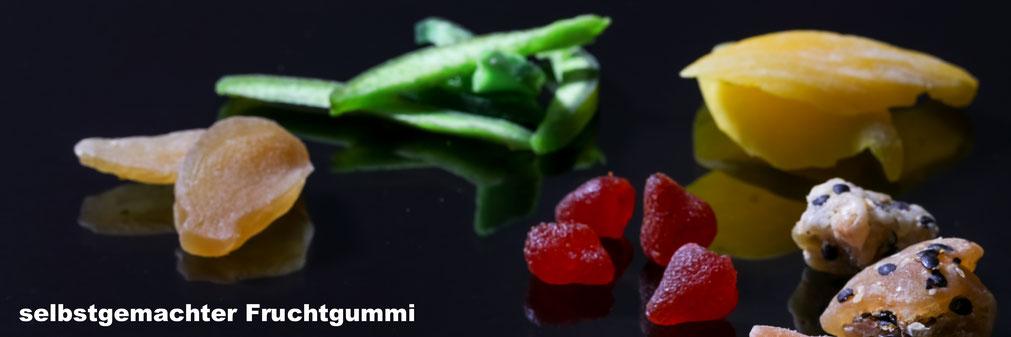 selbstgemachter Fruchtgummi