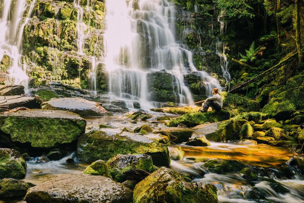 Nelson Falls, Tasmania