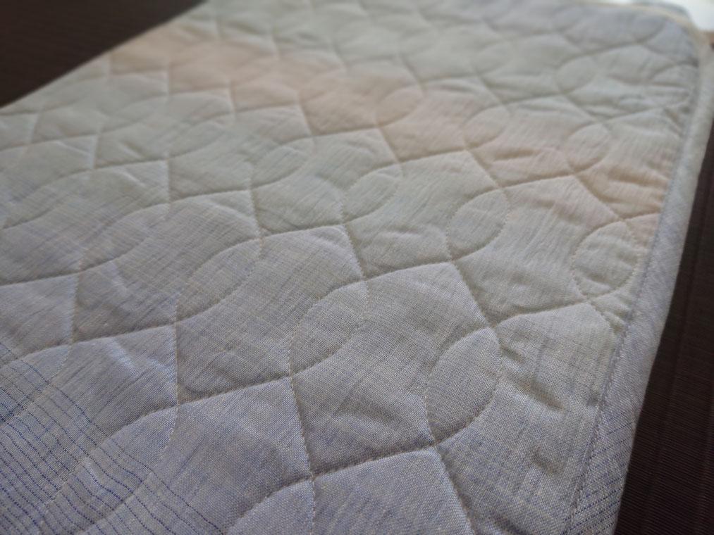 近江仕立ての本麻敷きパッド定価30,000円の品