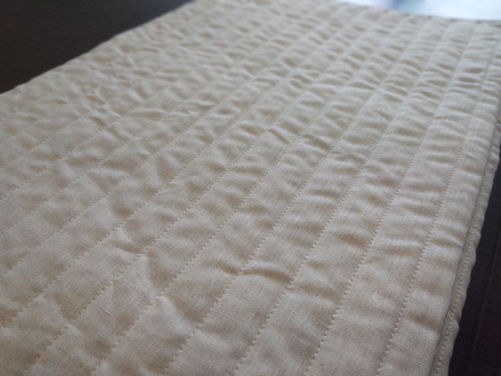 柔らか本麻敷きパッド定価25,000円の品