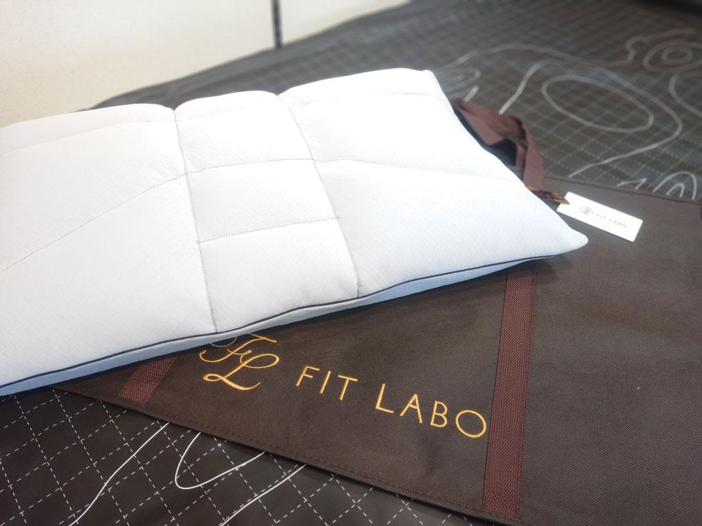 プレミアムオーダーメイド枕の完成