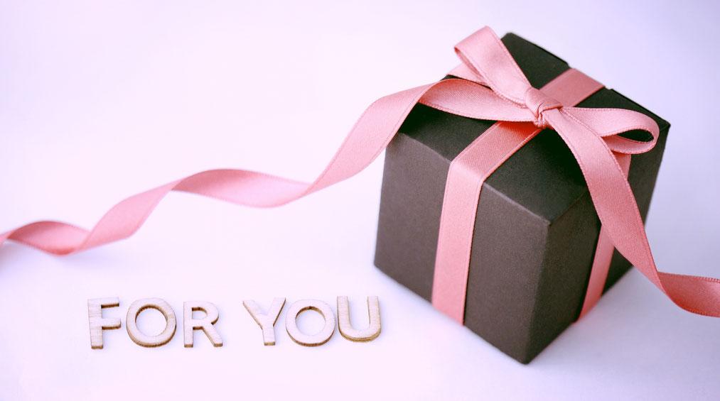 お父さんに枕のプレゼント♪