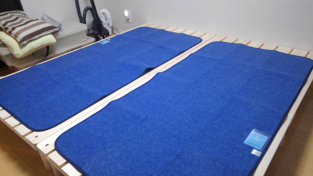 ベッドやマットの湿気対策も大切