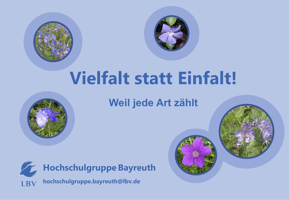 Vielfalt statt Einfalt - LBV Hochschulgruppe Bayreuth