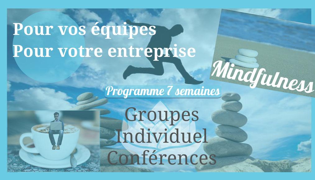 méditation de pleine conscience pour les entreprises à Tours et Région Centre
