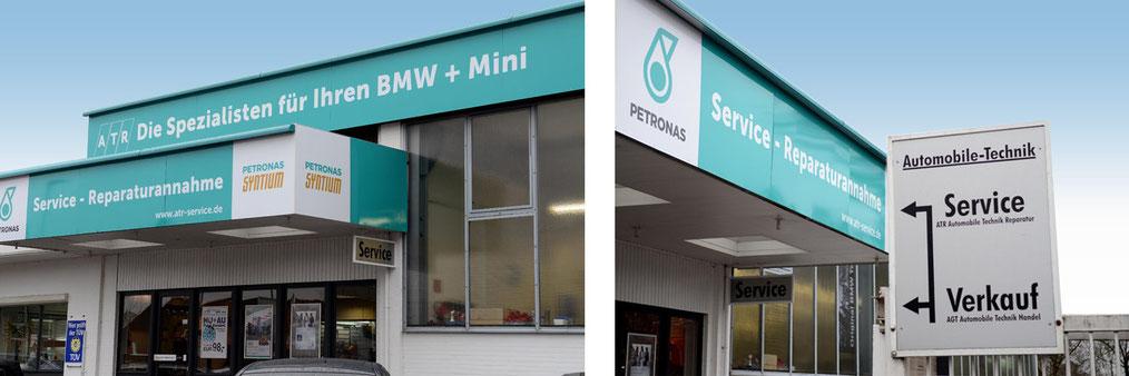 Die ATR GmbH - Die Kfz Fachwerkstatt für BMW und MINI in Hamburg