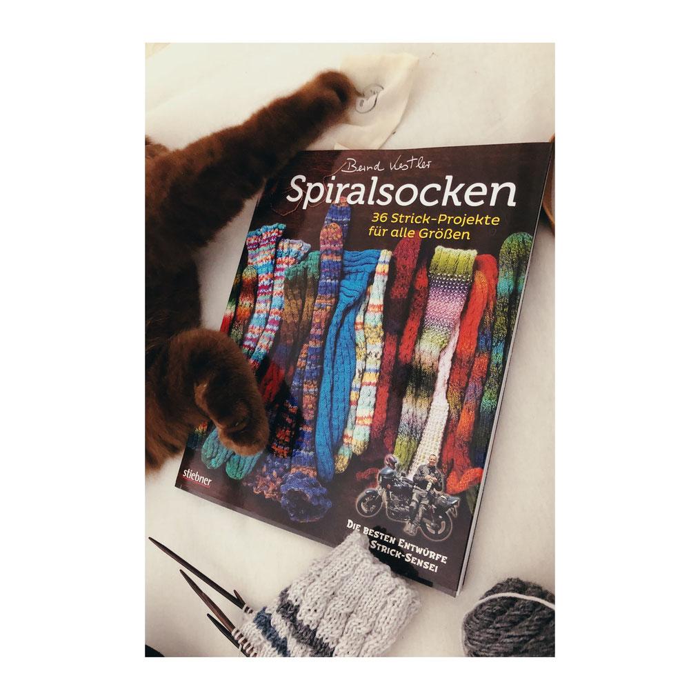 Spiralsocken von Bernd Kestler, erschienen im Stiebner Verlag