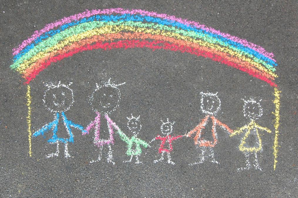 Kreidezeichnung; (c)regenbogenfamilien-koeln.de
